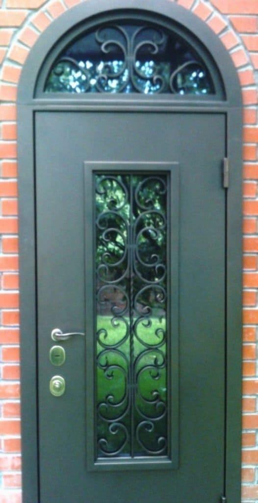 дверь арочная 003