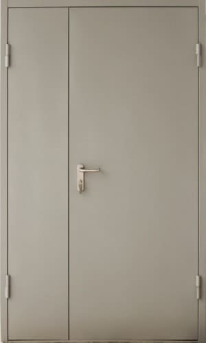 дверь двухстворчатая 1