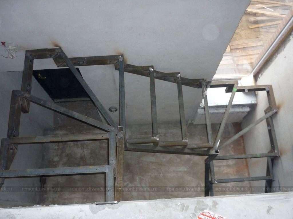 лестница под зашивку 12