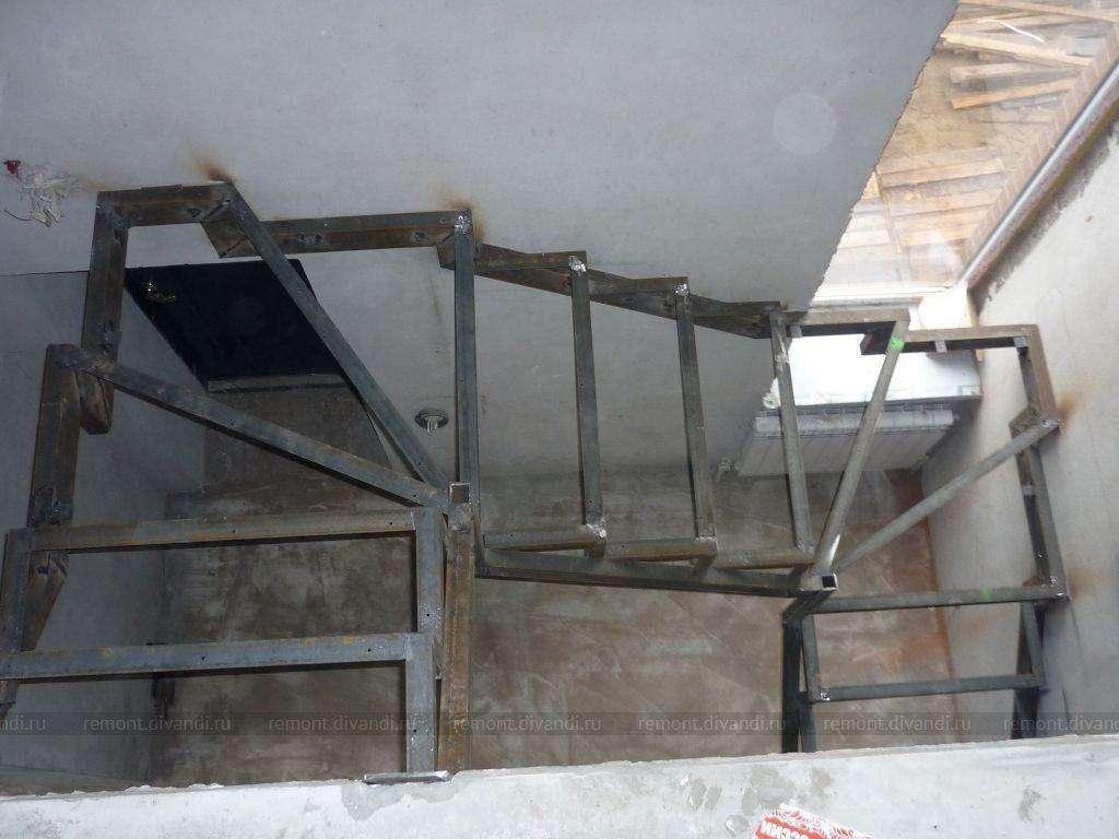лестница на косоуре 12