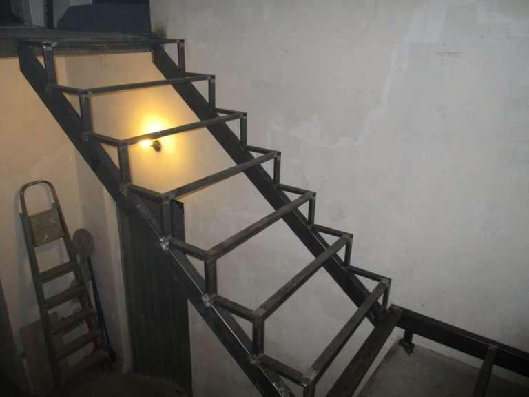 лестница под зашивку 7