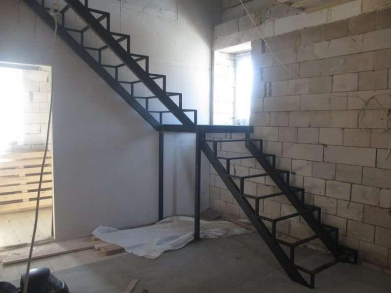 лестница под зашивку 8