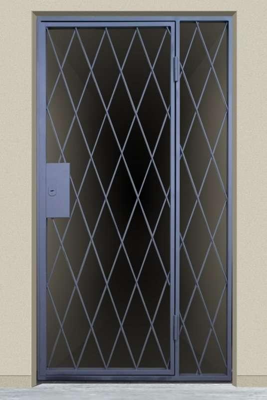 решётчатая дверь 6