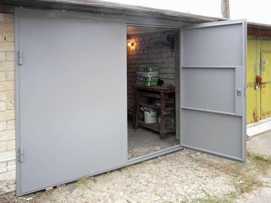 ворота гаражные 1